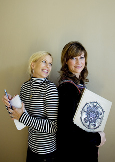 Programskaper Monica Øien og prinsesse Märtha Louise. (Foto: Sara Johannessen/SCANPIX)