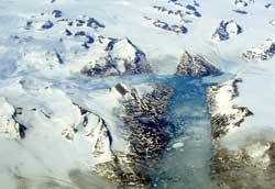 Norge var en gang dekket av is, slik Grønland er nå. (Foto: Creative Commons)