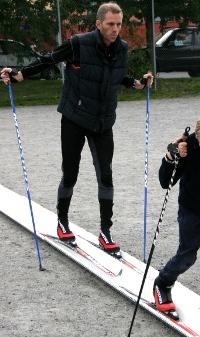 Her er skisporet i praksis. (Foto: Tore Waskaas)