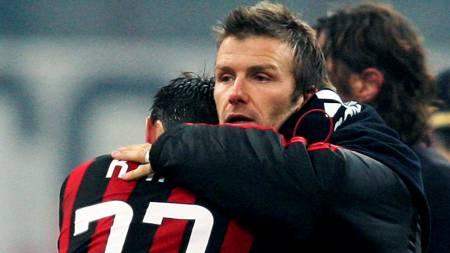 David Beckham og Kaka  (Foto: STEFANO RELLANDINI/REUTERS)