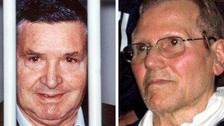 Mafiabossene Salvatore Riina og Bernard Provenzano soner flere   livstidsdommer i fengsel. (Foto: HO/AFP)