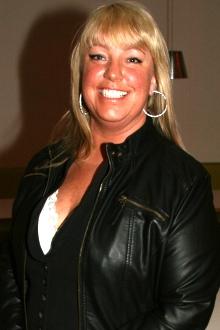 Chatrin Michaelsen Hagen koste seg på «Prosjekt X»-festen fredag   kveld.