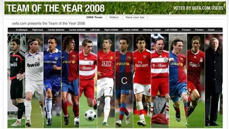 UEFA-lag (Foto: Faksimile fra uefa.com/)