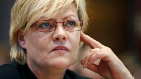 Finansminister Kristin Halvorsen.  (Foto: Aas, Erlend/SCANPIX)