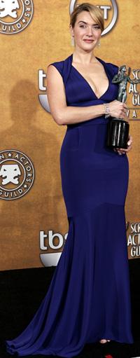 VANGT IGJEN: Kate Winslet fikk en SAG-pris for sin rolle i «The Reader».