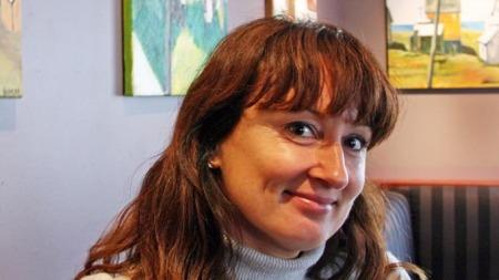 Kristin Kjelstrup ble drept utenfor Slettaelva skole i januar. (Foto: Hege I. Hanssen/Nordlys)