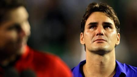 Federer  (Foto: GREG WOOD/AFP)