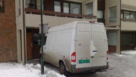 Geir Stene ble funnet drept i sin mors leilighet på Haugenstua i Oslo.  (Foto: Bjørn Carlsen / TV 2)