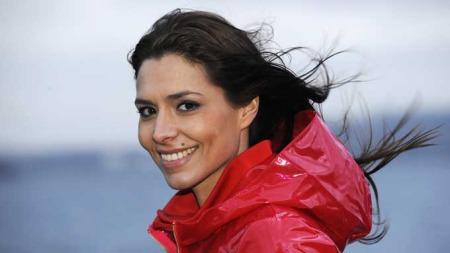 ISABELLA MARTINSEN er glad i bypåske med utepils, men gleder seg til jobbpåske på Geilo. (Foto: TV 2)