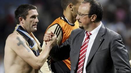 BOMKJØP? Rafael Benitez mener United kan tillate seg å gjøre bomkjøp som Robbie Keane.  (Foto: JEAN-PAUL PELISSIER/SCANPIX)