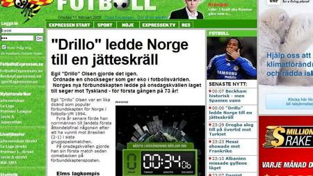 Expressen (Foto: Faksimile, Expressen/)