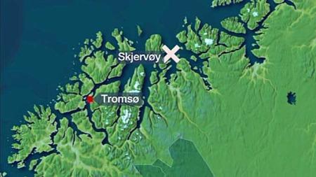 kart Skjervøy