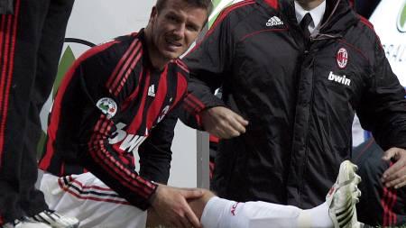 AC Milan's David Beckham  (Foto: Carlo Baroncini/AP)