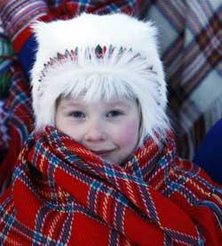 Temperaturen kryper fortsatt ned til minus tretti på Finnmarksvidda. (Foto: Lise Åserud / SCANPIX)