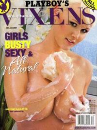 FERSK: Kristine Sjulstok pryder nå forsiden av denne spesialutgaven av Playboy.