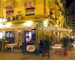 I Malaga kan du spise ute, nå i februar. Fristende? (Foto: Creative Commons)