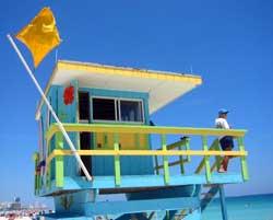 Eller kanskje til stranden på Miami Beach? (Foto: Ronald Toppe)