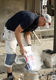 BYGGHERRE: Ronny var eneste «Prosjekt X»-deltaker med erfaring fra byggebransjen.  (Foto: K. V Beylegaard / TV 2)