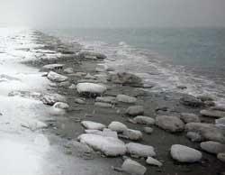 Snøføyke og iskald vind. (Foto: Creative Commons)