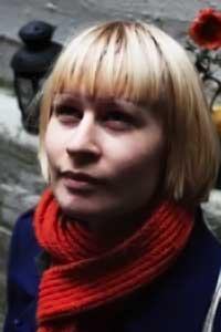SPILLER: Jenny Hval aka. Rockettothesky. (Foto: Camilla F. Gjendem)