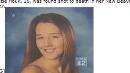 Dette bildet av den drepte Kenzie Houk er lagt ut av slektninger   på et åpent diskusjonsforum på internett.