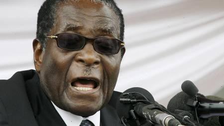 Zimbabwes president Robert Mugabe.  (Foto: AFP/SCANPIX/)