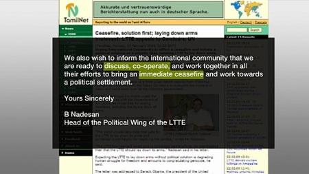 Brev fra Tamiltigrene (Foto: Grafikk / TV 2)