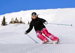 Det er fine forhold i skianleggene østpå, som her i Trysil.   (Foto: Ola Matsson)