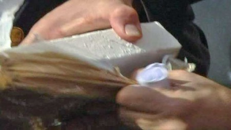 Kokain vises frem (Foto: ESTVE)