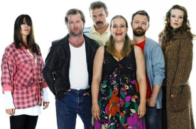Pia Tjelta, Fridtjov Såheim, Christian Skolmen, Henriette Steenstrup, John Brungot og Ane Dahl Torp.