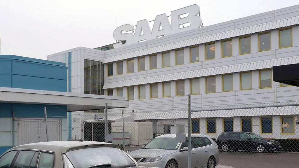 Saab-fabrikken i Trollhättan sto stille i neste ni måneder før selskapet til slutt ble slått konkurs. (Foto: Goran Jorganovich/TV 2)