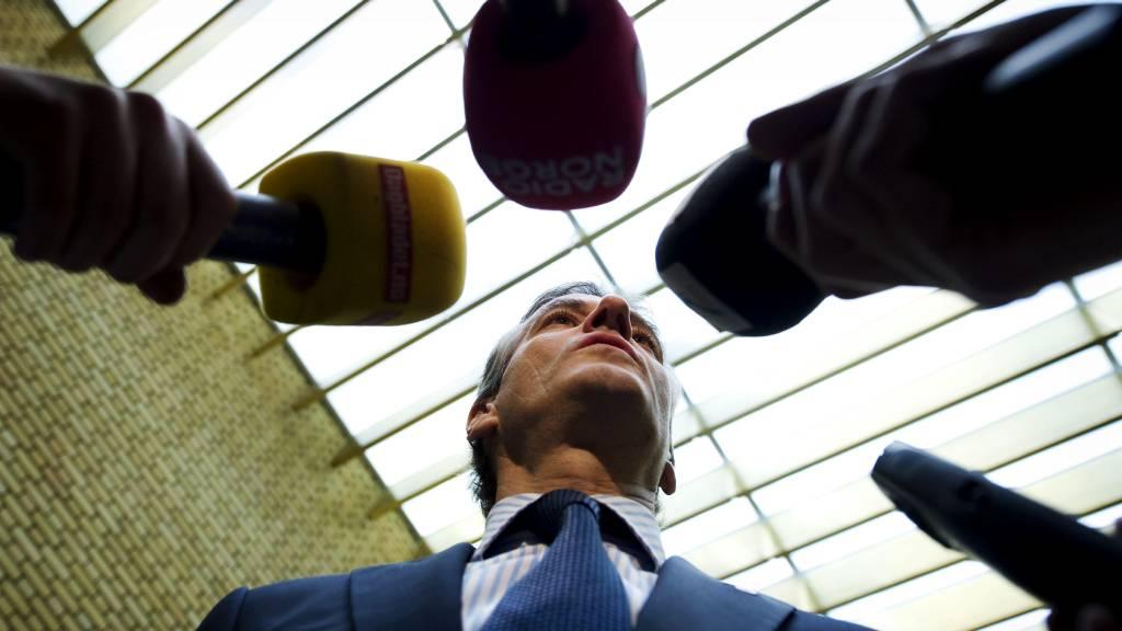 Utenriksminister Jonas Gahr Støre  (Foto: Aas, Erlend/SCANPIX)