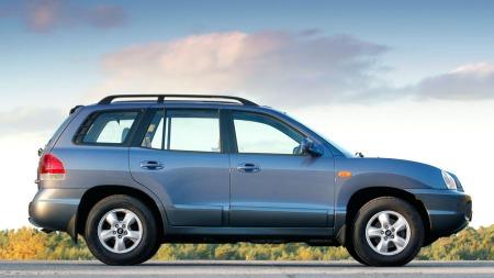 Hyundai Santa Fe har aldri vært noen storselger, men sniker seg akkurat inn på 20. plass blant brukt-SUV-ene vi søker mest på.