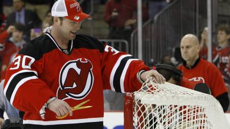 Martin Brodeur - New Jersey Devils  (Foto: Julie Jacobson/AP)