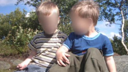 Disse to barna har vært kidnappet av sin mor siden juni 2005.