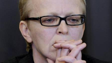Bistandsadvokat Eva Plaz representerte blant annet Fritzls datter Elisabeth under rettssaken denne uken.  (Foto: ROBERT JAEGER/POOL/EPA)
