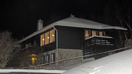 Trippeldrap: Et ektepar og mannens mor ble funnet drept i en   leilighet i Tromsdalen søndag ettermiddag. (Foto: SCANPIX/SCANPIX)