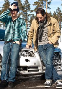 Harald-og-bil