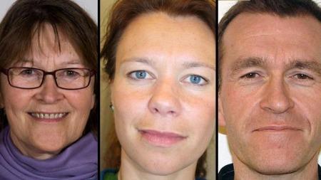 Ble drept mens de sov: Ragna Elida Christensen (61), Linda Anett Hansen (35) og Ole Roger Olsen (44).