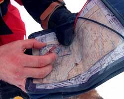 Kartet må med, selv om du har GPS. (Foto: Jon Eeg / SCANPIX)