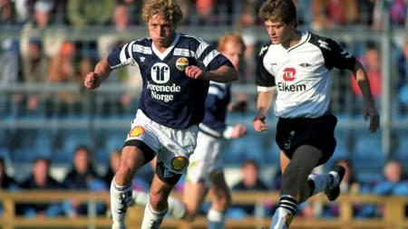 OFFENSIV: Karl Petter Løken kan skryte av flere seriemesterskap med RBK.  (Foto: Eeg, Jon/SCANPIX)