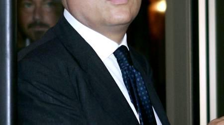 RASER MOT UNITED: Lazio-president Claudio Lotito. (Foto: ANDREAS   SOLARO/AFP)