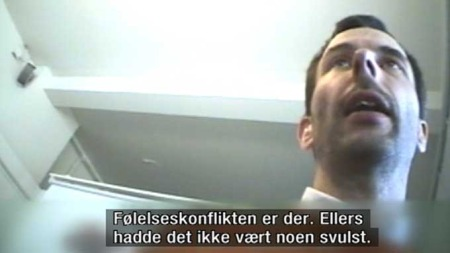 TILHENGER: Casper Rutten er som Hamer overbevist om at kreft og andre sykdommer er en mental tilstand. (Foto: TV 2)