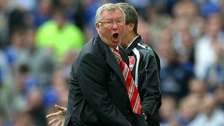 RASENDE: Sir Alex Ferguson  (Foto: Nick Potts/AP)