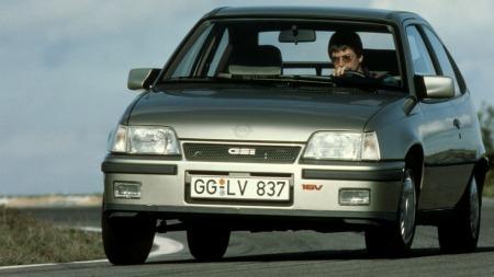 Opel Kadett GSI 16v. Heftige greier! (Foto: Pressebilde)