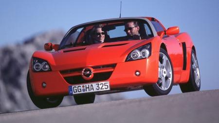 Opels sportsbil - Speedster. (Foto: Pressebilde)