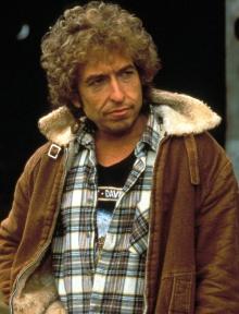 Bob Dylan var iført en rar strikkelue og jammet «Blowin' in the Wind» med George Harrison.