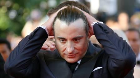 BERBATOVS FORBILDE: Andy Garcia  (Foto: ANNE-CHRISTINE POUJOULAT/AFP)