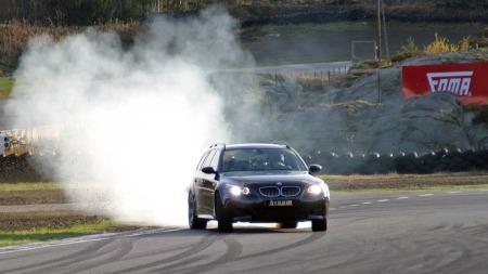 BMW M5 (Foto: Bjørn Olav Amundsen)
