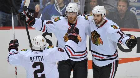 Chicago Blackhawks  (Foto: NICK DIDLICK/AFP)